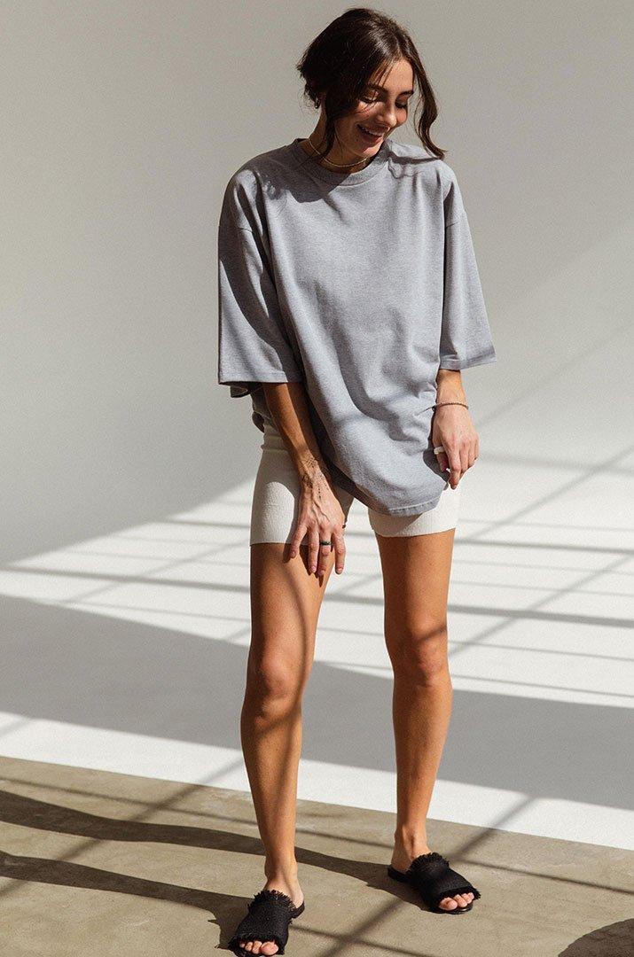 """T-shirt  long gray """" Irina Tydnyuk"""""""