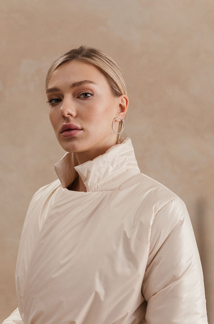 "Jacket short  pink ""Irina Tydnyuk"""